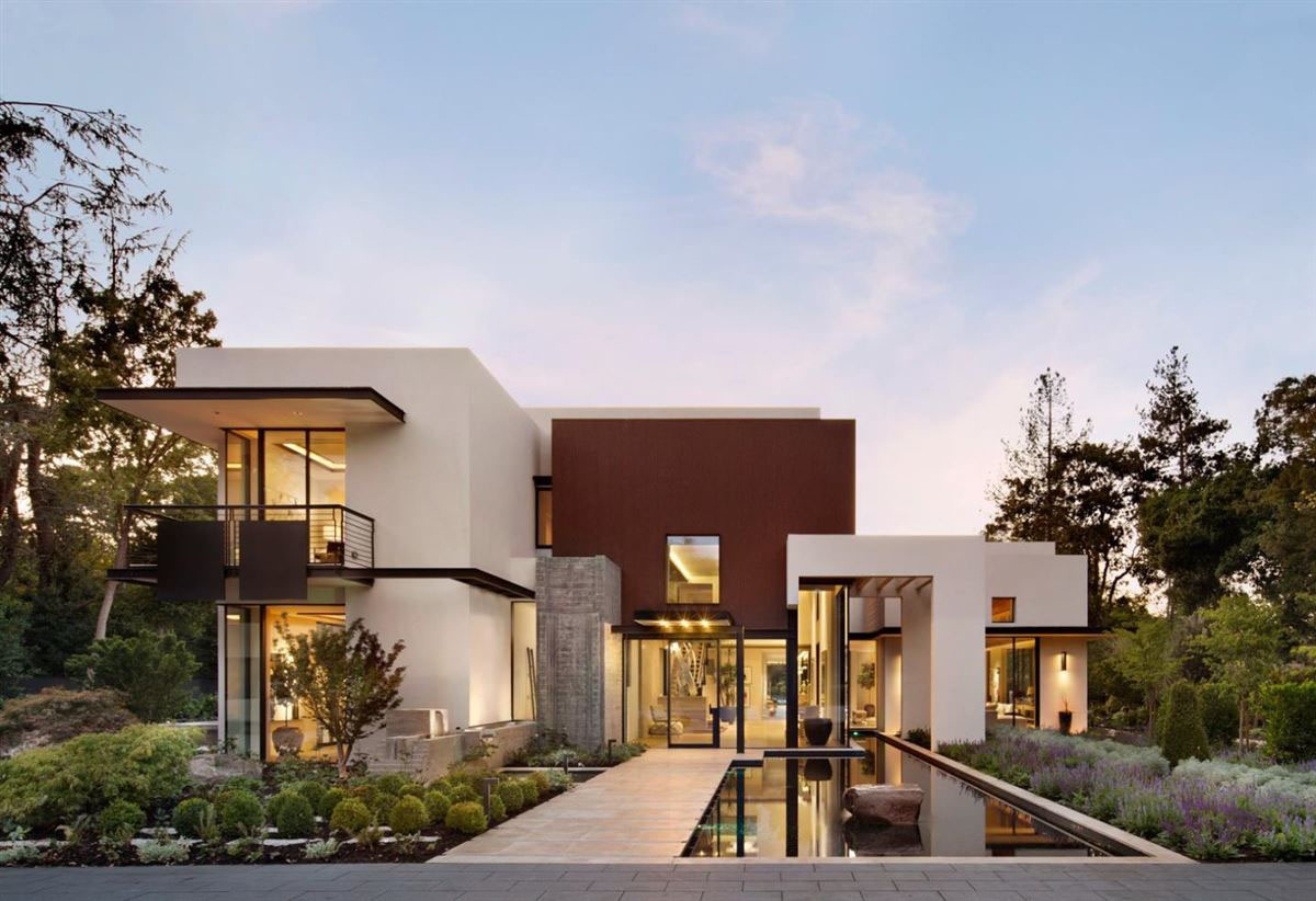 California Contemporary Homes sophisticated contemporary estate in california | idesignarch