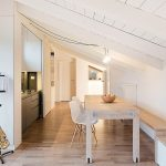 Modern Attic Apartment In Bologna With Custom Designed Elements