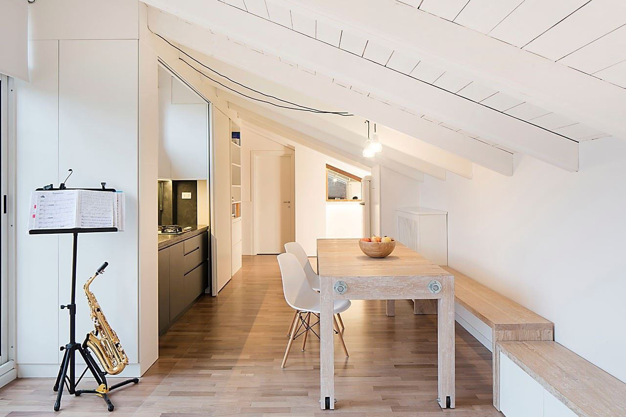 Renovated Attic Apartment