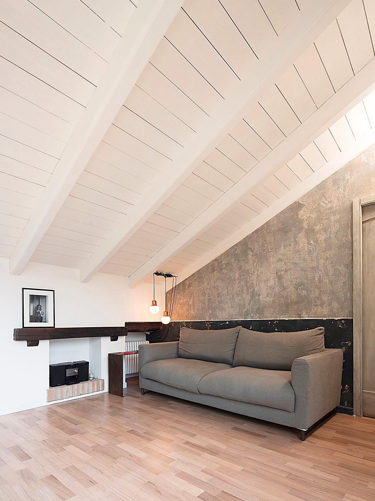 Modern attic apartment in bologna with custom designed elements idesignarch interior design - Interior designer bologna ...