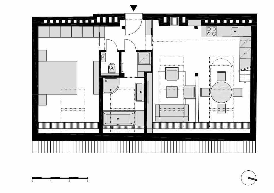 Group 9 business plan small attic loft apartments for Loft apartment plans