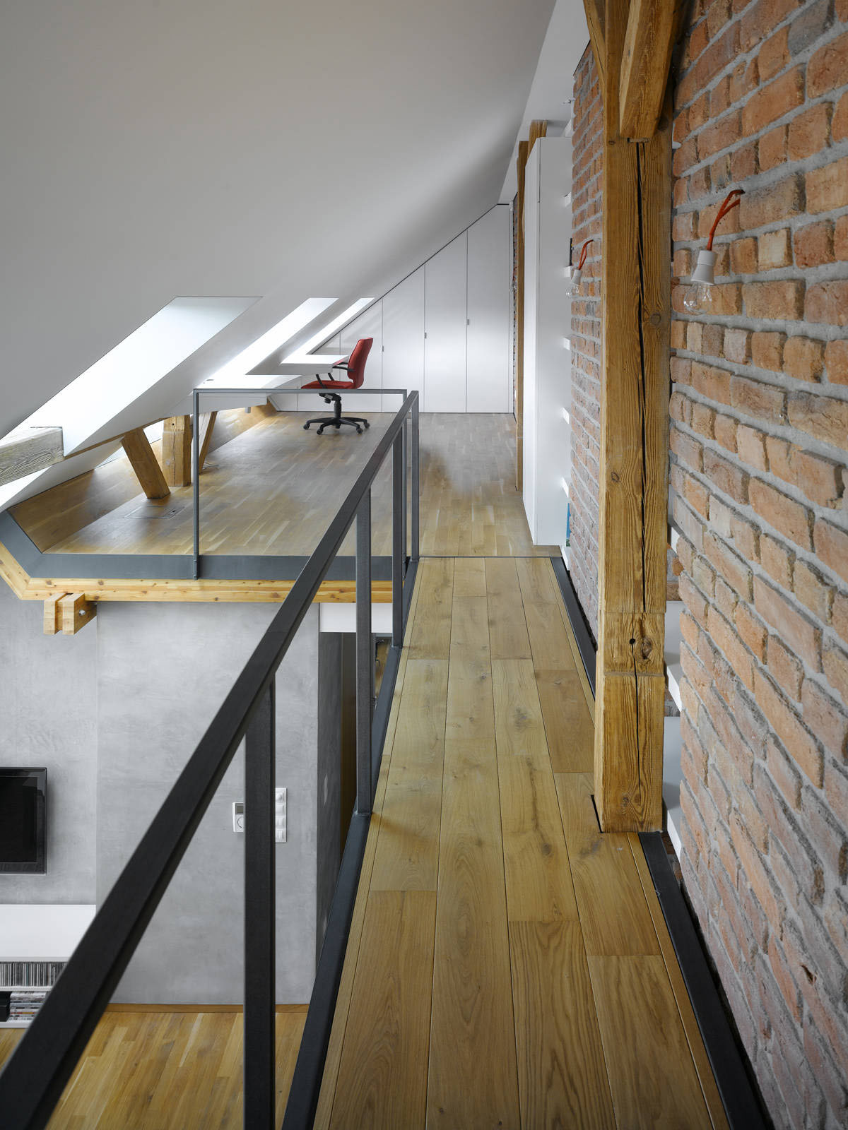 Small Attic Loft Apartment In Prague Idesignarch