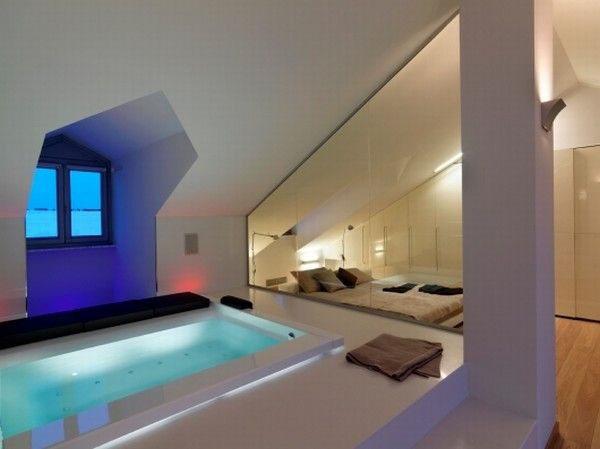 Attic Apartment Design In Italy iDesignArch Interior Design