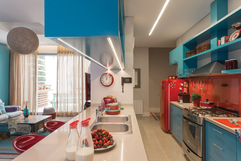 Red Orange Kitchen Colors Intended Design