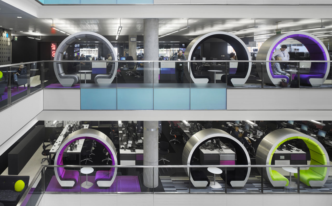 BBC North Creative Interior Spaces iDesignArch Interior Design