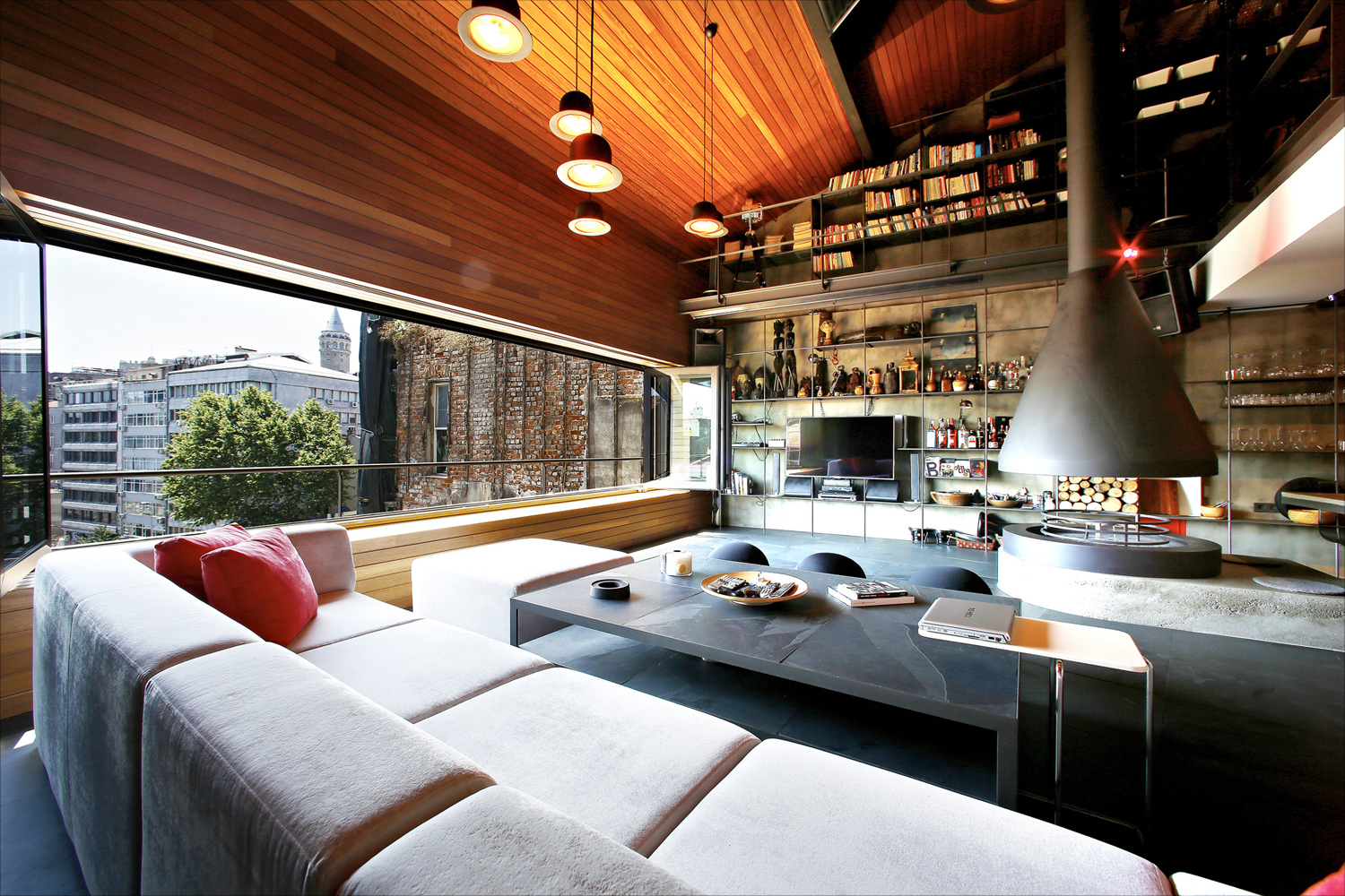 The Ultimate Bachelor Loft In The Heart Of Istanbul Idesignarch Interior Design