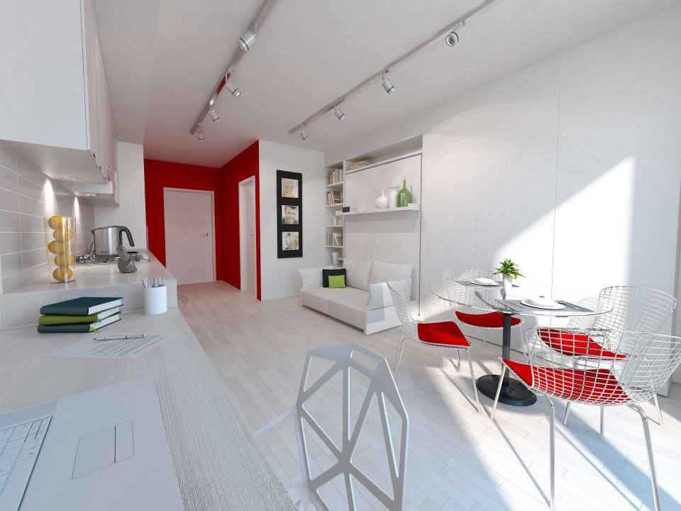 Stylish And Functional Suburban Small Condo Apartment ...