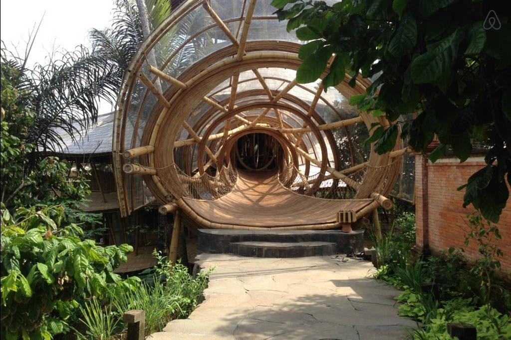 Dramatic Bamboo House In Bali Idesignarch Interior