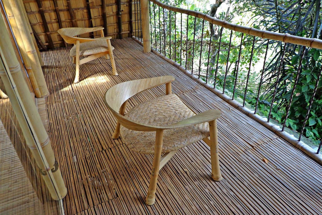 Custom Bamboo Chairs