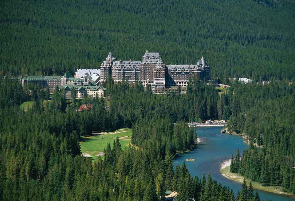 Banff (AB) Canada  City new picture : the fairmont banff springs hotel in the heart of banff national park