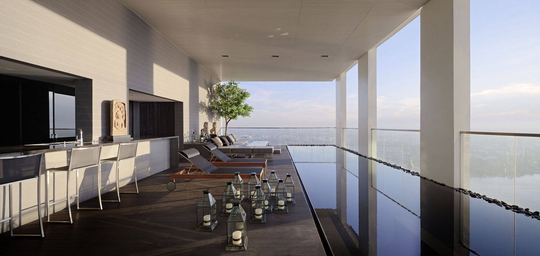 The Pano Triplex Penthouse A Unique Private House In The