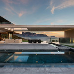 Contemporary Ridge-Top House With Ocean And Mountain Views