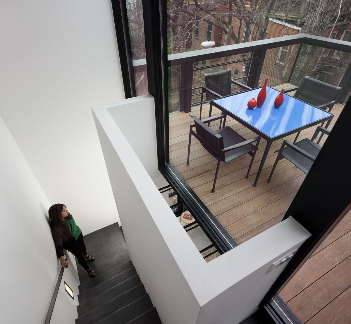 Modern Row House Plans: Modern Washington D.C. Row House