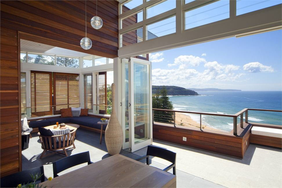This Modern Beach House With Views Over Palm Beach Near Sydney