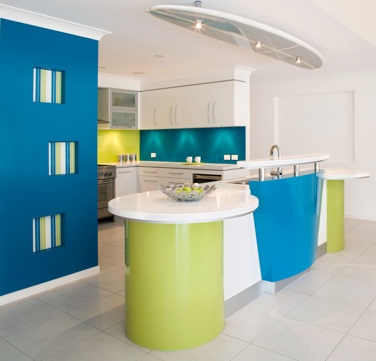 Vibrant Kitchen Design | iDesignArch | Interior Design, Architecture ...