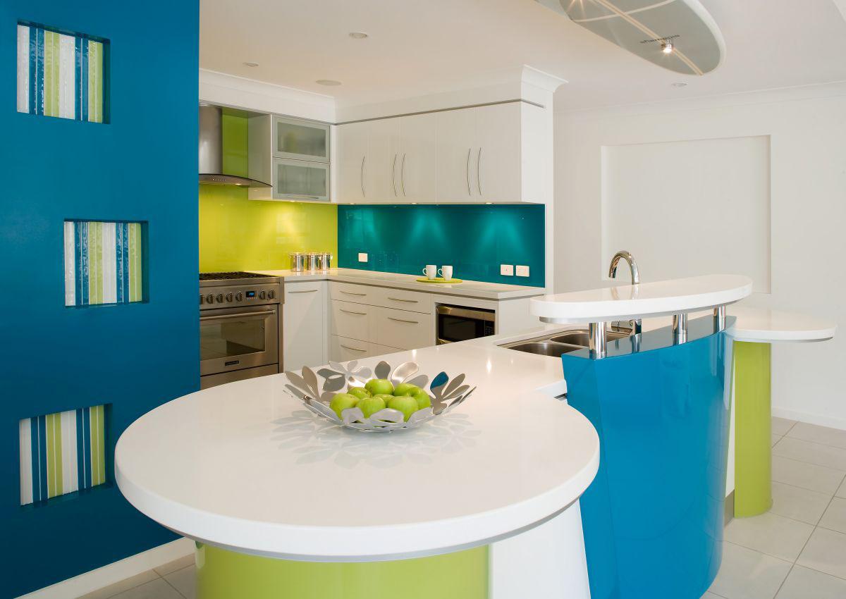 Vibrant kitchen design idesignarch interior design architecture