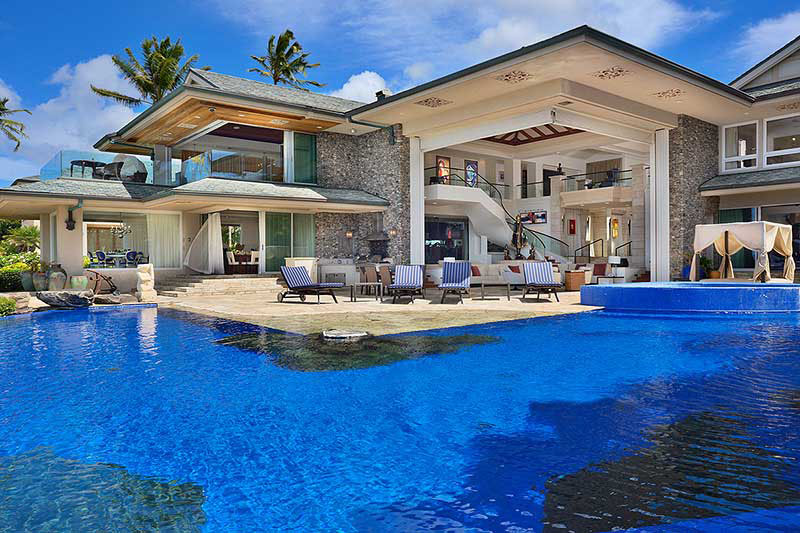 luxury beachfront estate in maui - Luxury Beach Home Interiors