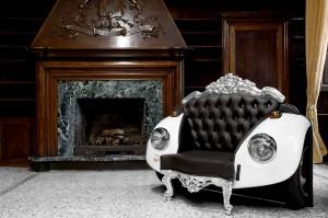Swarovski Crystals Car Chair