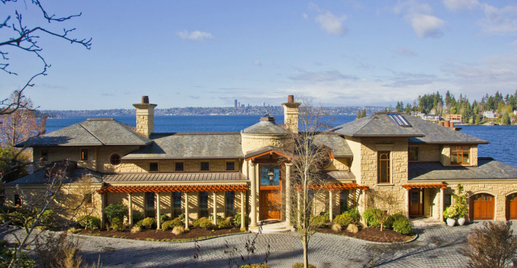 Bellevue Washington Home by the Lake