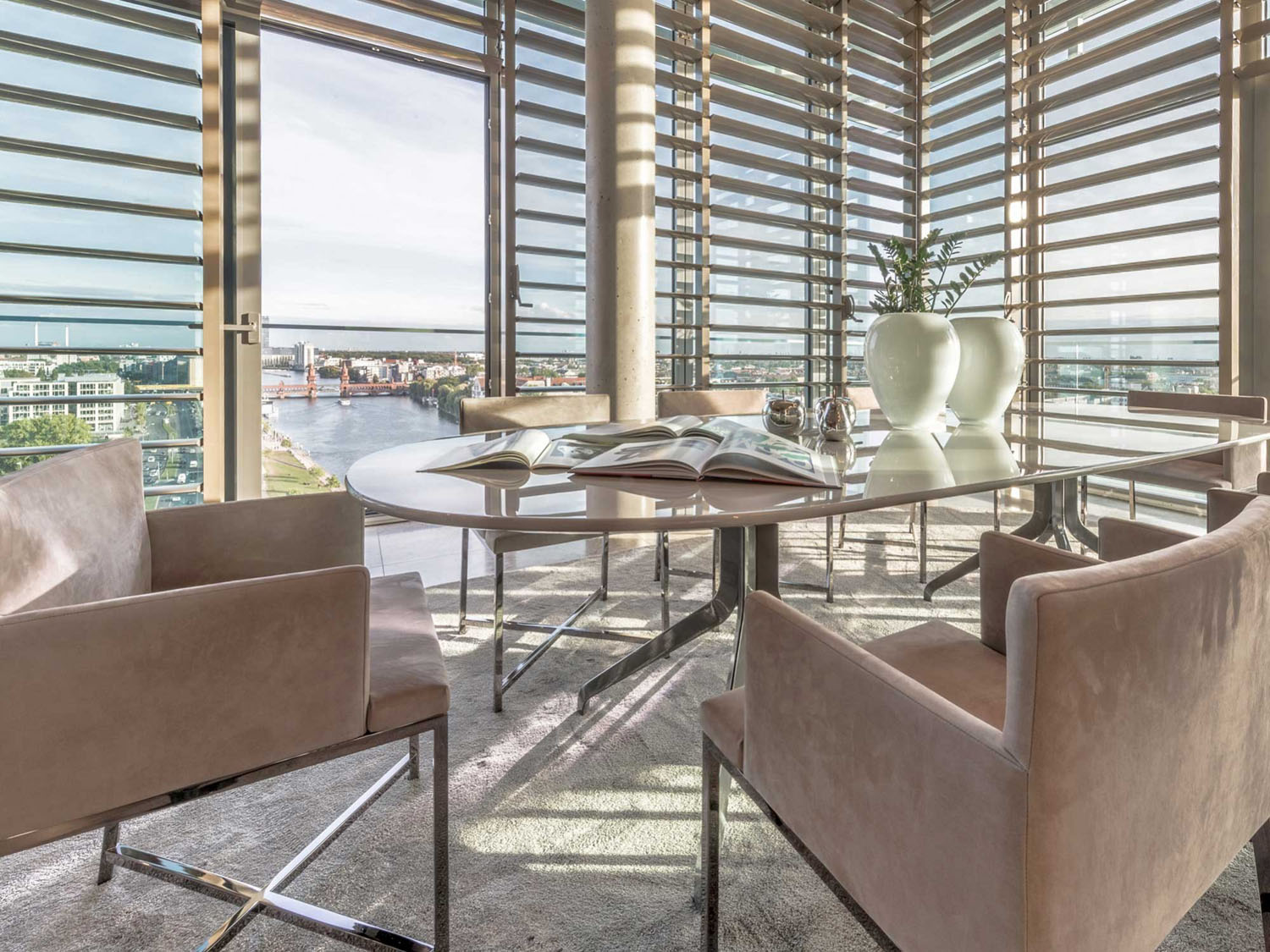 Penthouse Berlin berlin riverside penthouse apartment with panoramic views of the