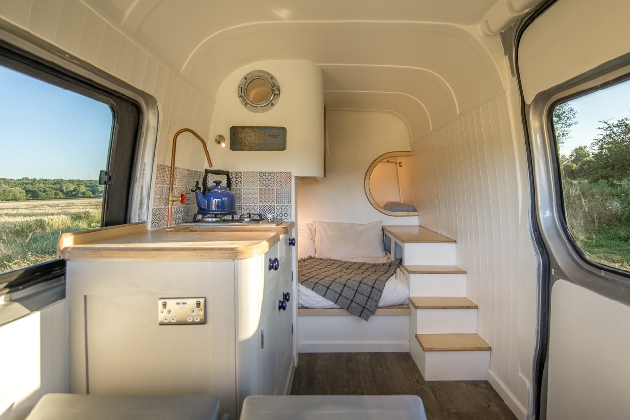 Converted Vans Custom Luxury Van Conversion Mobile Home Idesignarch Interior