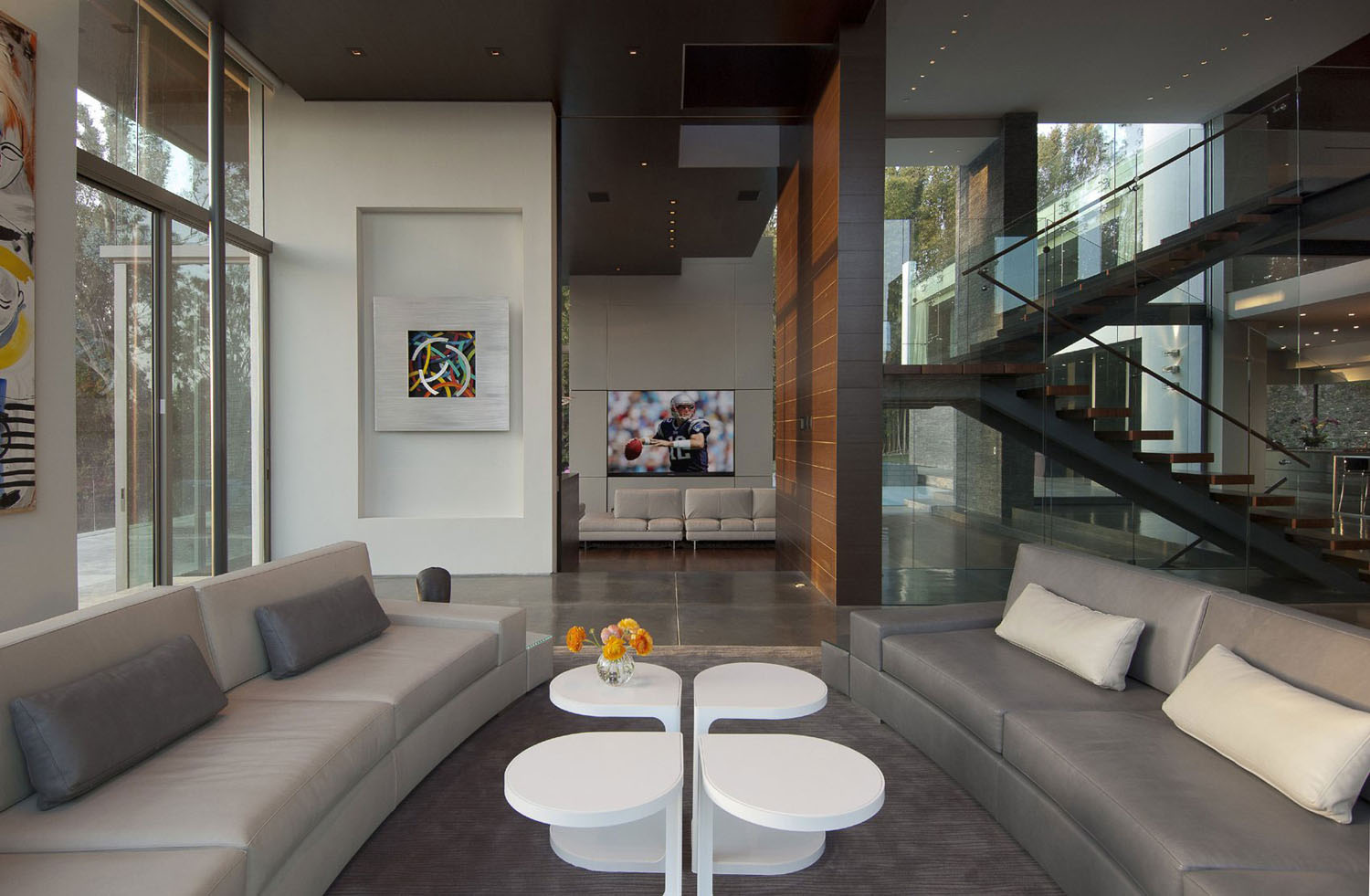 Interior Designers Beverly Hills Ecofriendly Modernist Luxury Mansion In Beverly Hills