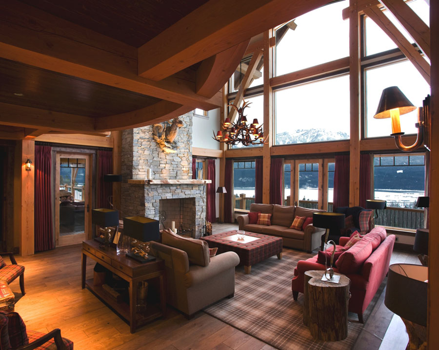 Luxury Mountain Lodge