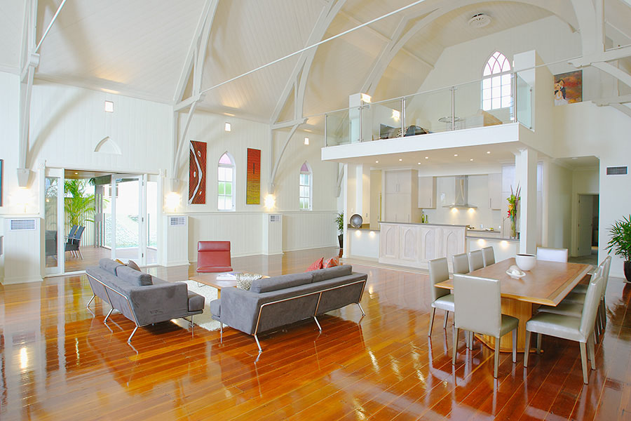 Bonney Avenue Church House In Brisbane iDesignArch Interior