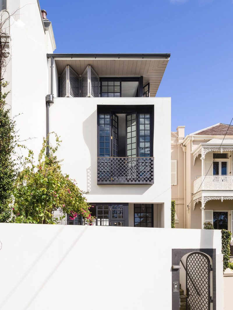 Modern Row House Inspired By Its Neighbouring Victorian