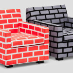Unique And Eye-Catching Bricks & Mortar Sofa