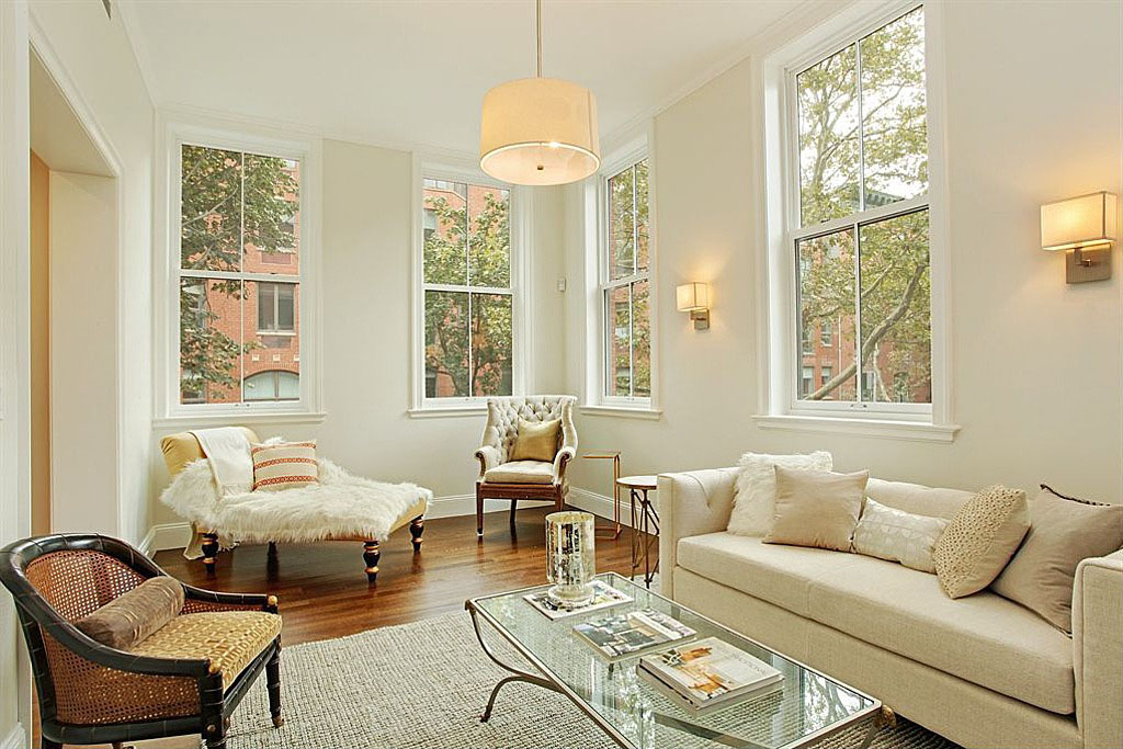 Traditional brownstone in brooklyn heights with contemporary interiors idesignarch interior Brooklyn brownstone interior