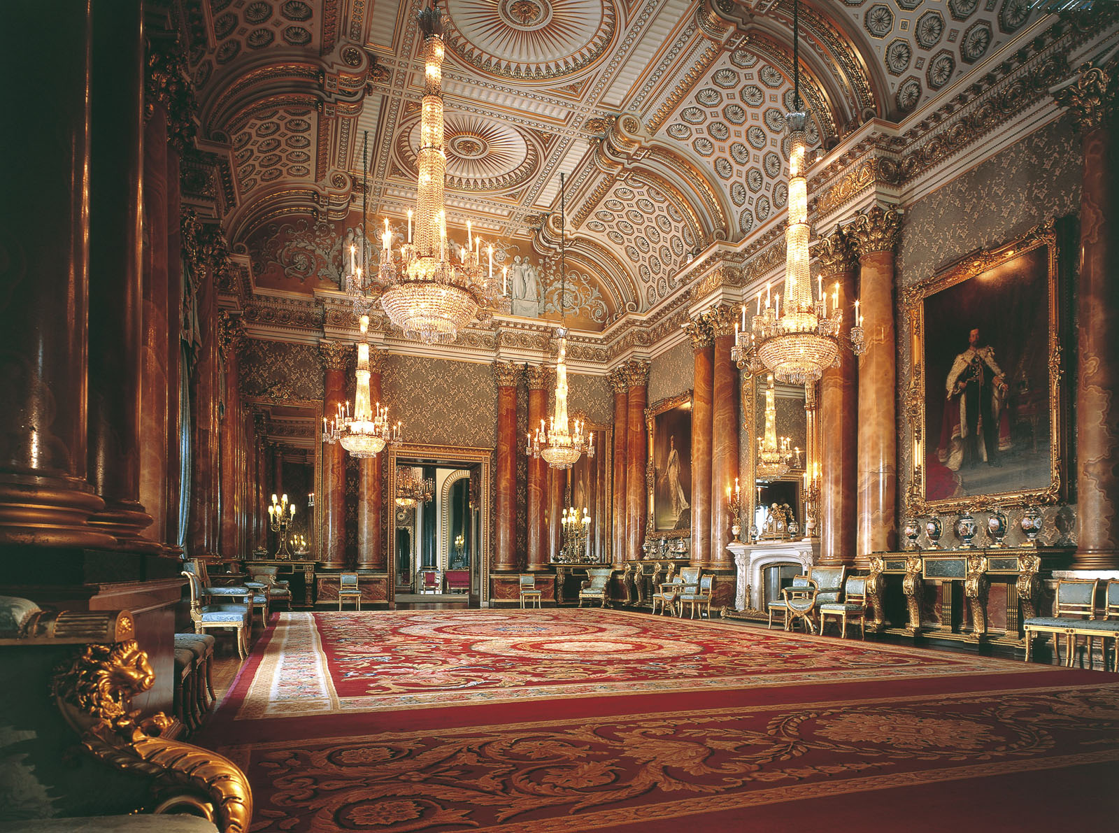 Pics Photos Palace Interior Photos : Buckingham Palace Blue Drawing Room from funny-pictures.picphotos.net size 1600 x 1191 jpeg 637kB
