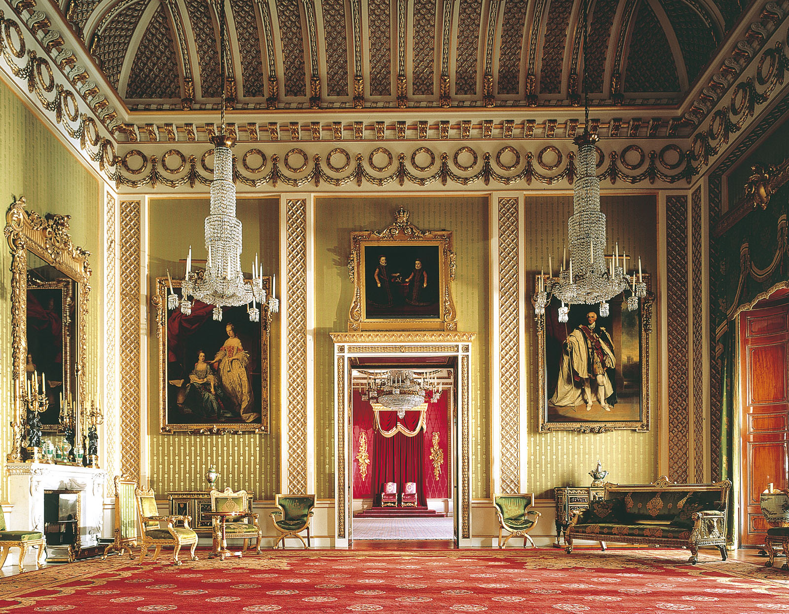 gallery for buckingham palace interior bedroom
