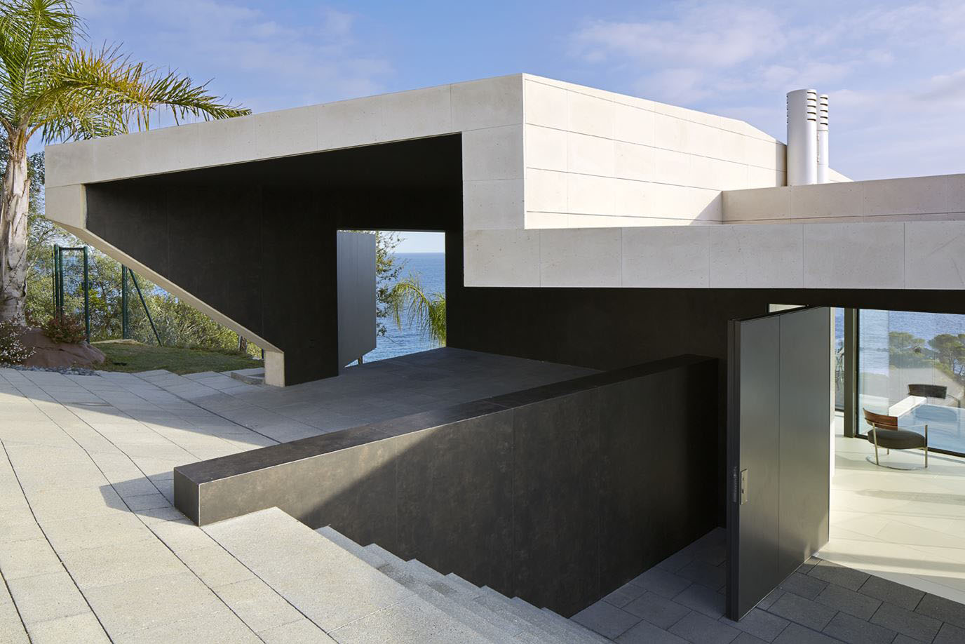 Minimalist oceanview home in israel idesignarch interior design - Cala Canyet Ocean View House_3