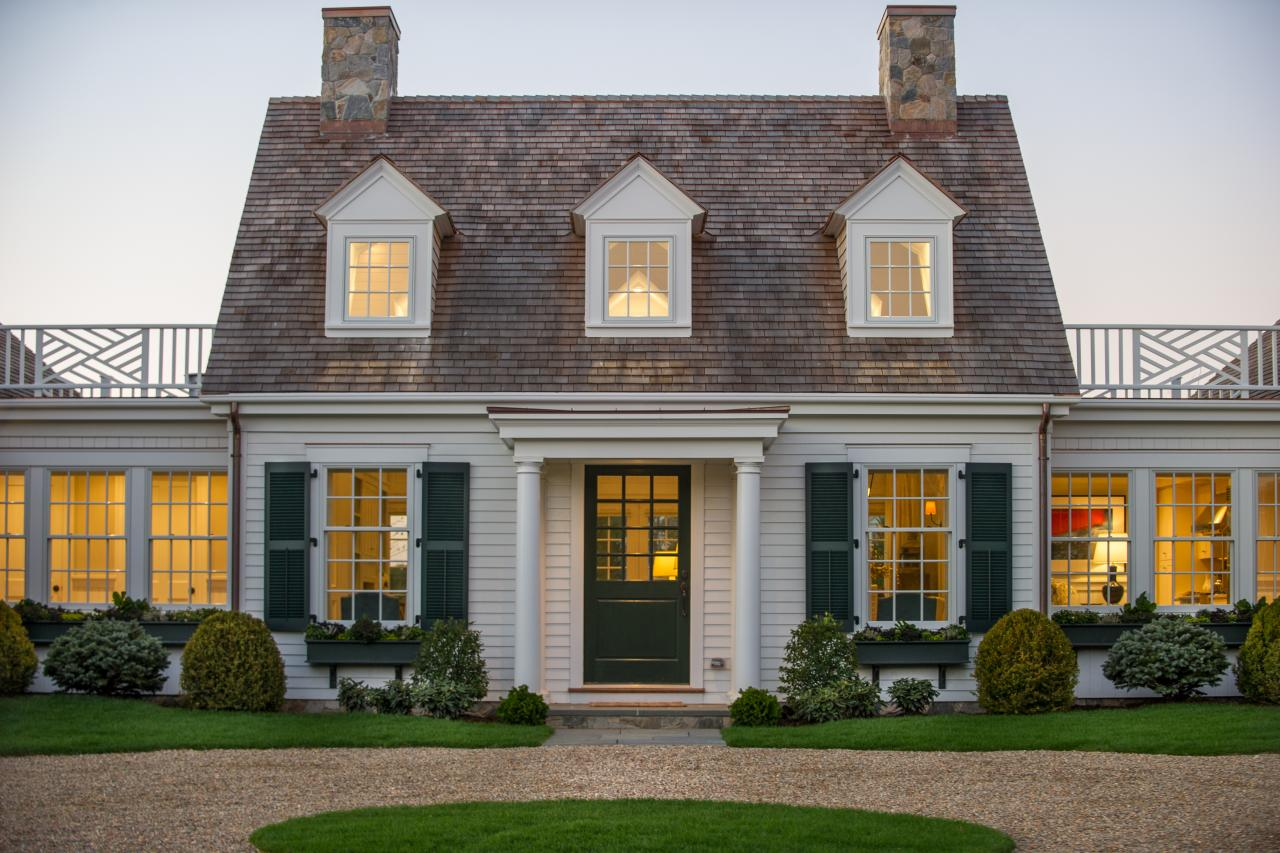 New England Style Dream Home Cape Cod Architecture 1  iDesignArch Interior Design
