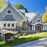 Shingle Style Lakeside Cottage Mansion