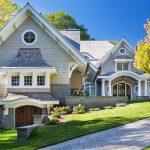 Shingle Style Lakeside Cottage Mansion