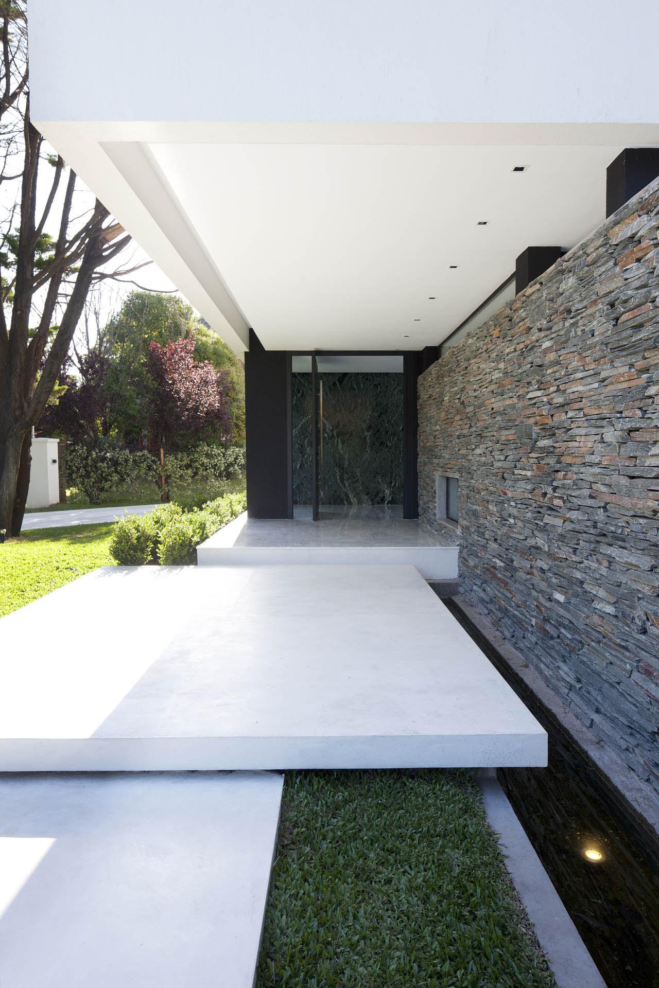 carrara marble house in argentina | idesignarch | interior design