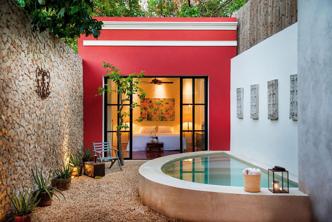 A Stylishly Renovated Mexican Home Combines Contemporary And ...