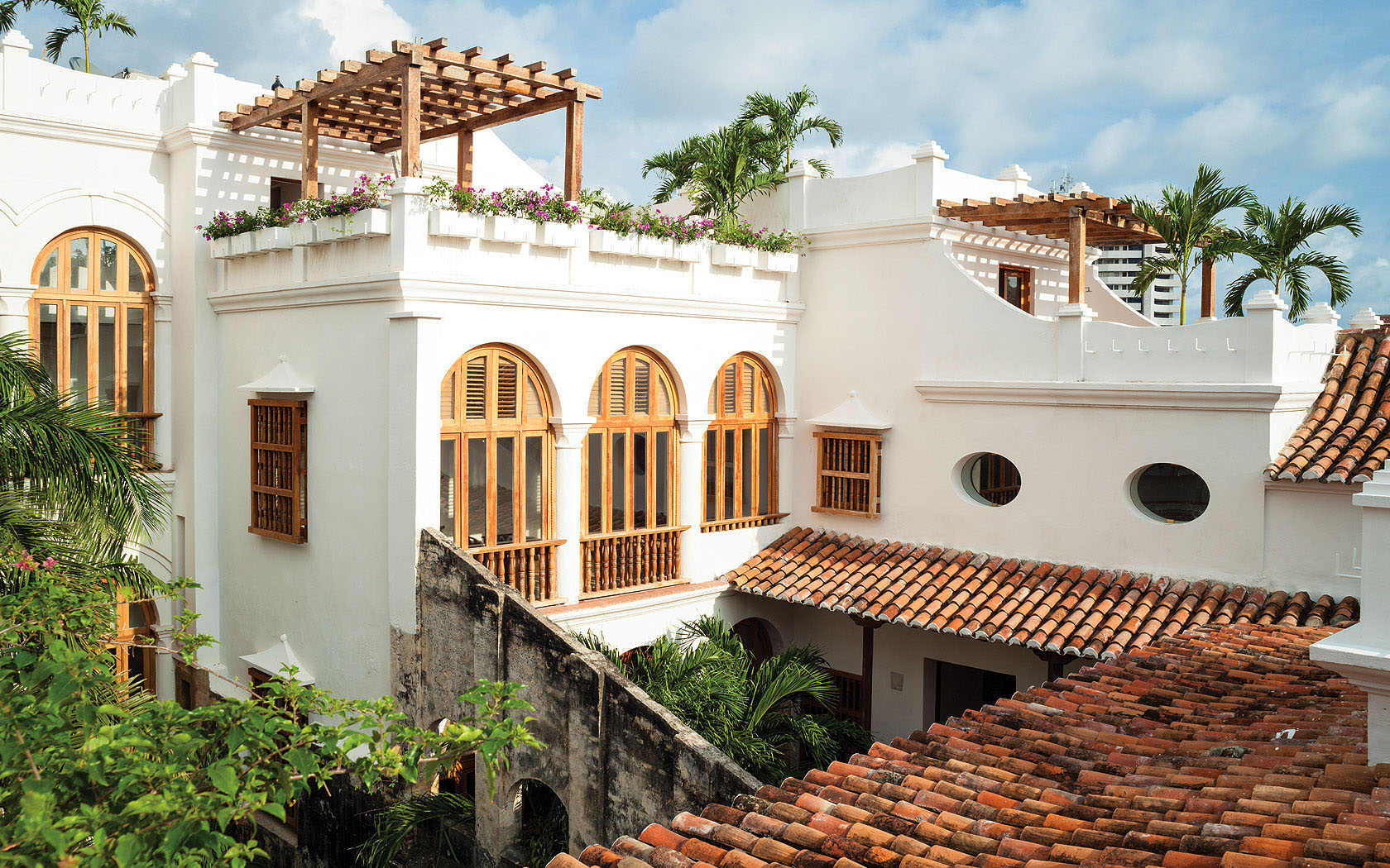 Hotel Casa San Agustin Spanish Colonial Architercture