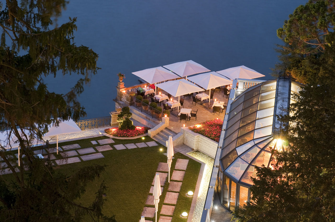 Castadiva resort secluded luxury on lake como for Hotel design italie