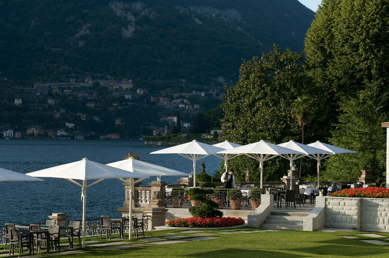 Castadiva resort secluded luxury on lake como - Casta diva lake como italy ...