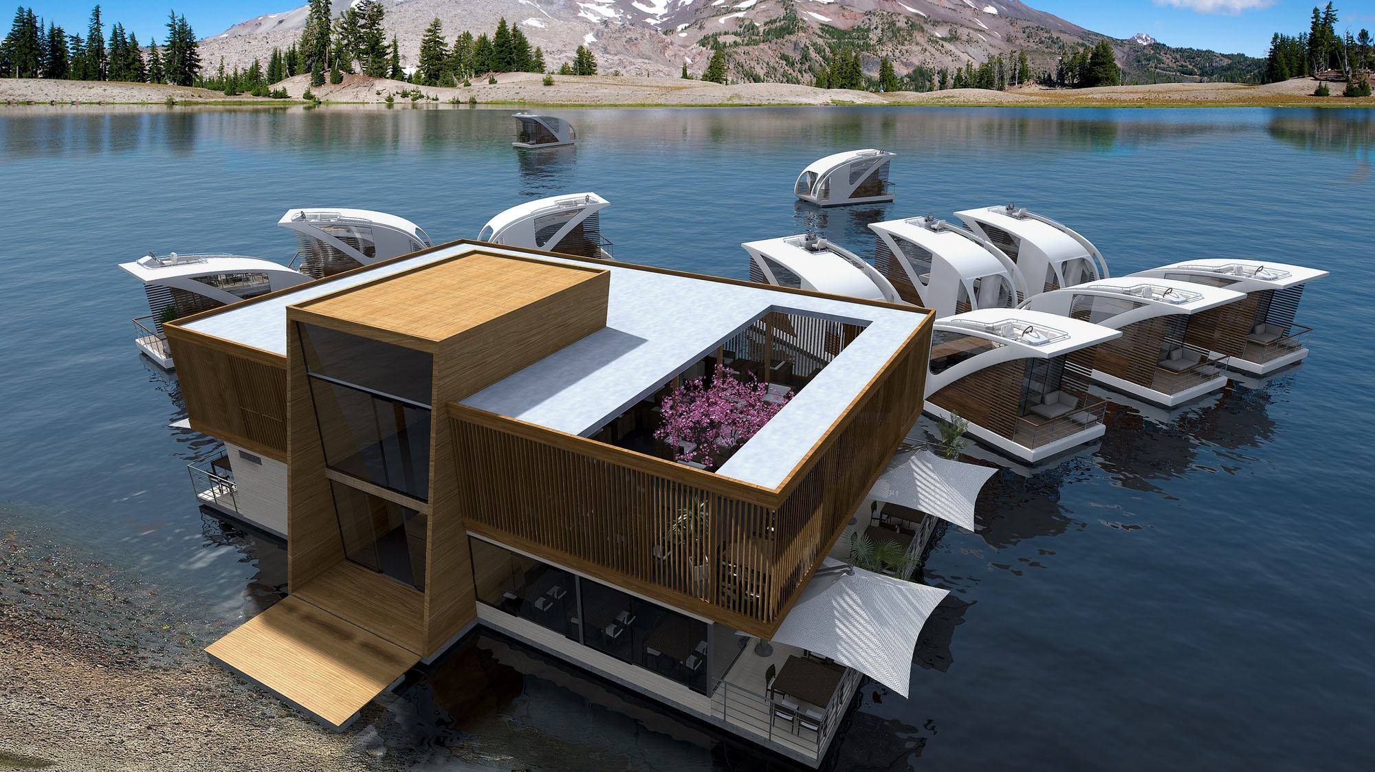 Houseboat Floating Hotel