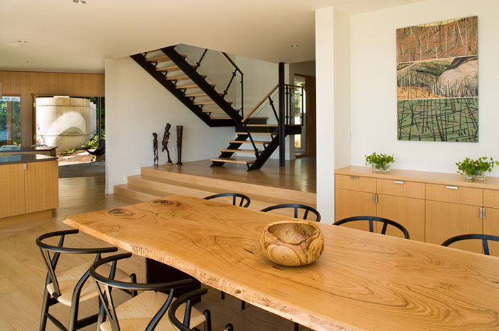 House On A Bluff In Seattle iDesignArch Interior