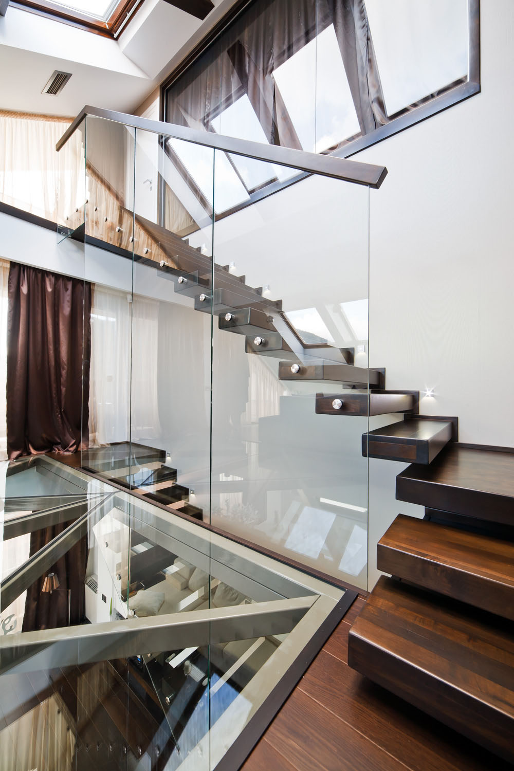 Transparent Loft Interior Design In Romania Idesignarch