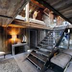 Chic Modern Rustic Chalet In The Rhône-Alpes
