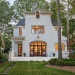 Unique Custom Home with a Transitional Style Façade and Sophisticated Interiors