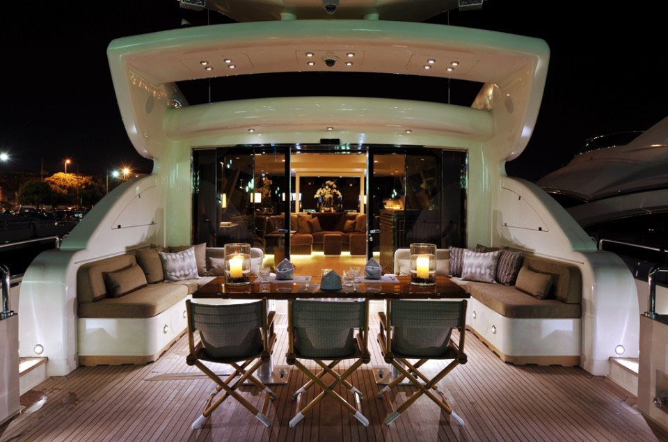 Stylish Luxury Yacht Cheeky Tiger
