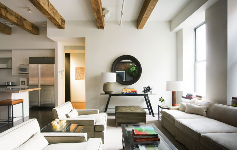this loft apartment in the chelsea - Chelsea Interior Designers