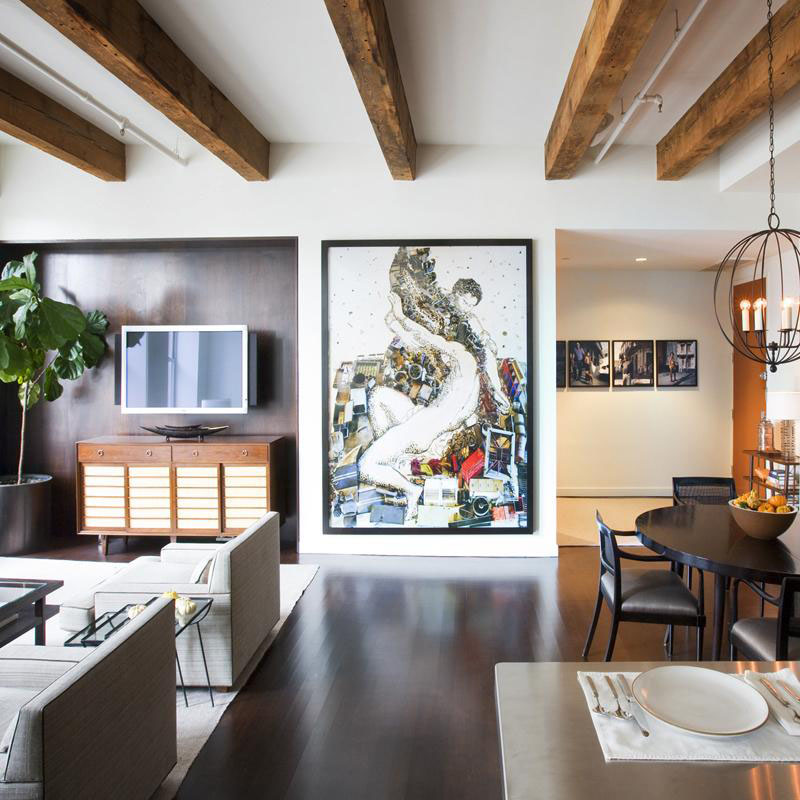 Modern Apartment Interior Design: Timeless Contemporary Apartment Design In Manhattan